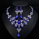 povoljno Ogrlice-Žene Viseće naušnice Ogrlica Klasičan Stilski Europska Elegantno Naušnice Jewelry Obala / Crvena / Plava Za Vjenčanje Dnevno