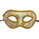 billiga Halloween- och karnevalkostymer-Mask Halloween Rekvisita Masquerade Mask Inspirerad av Katt Opera of Phantom Svart Vit Halloween Halloween Karnival Vuxna Herr Dam