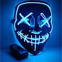 povoljno Osobna zaštita-Halloween mask maska motocikla vodio osvijetljene partijske maske jasne izborne godine velika smiješna maska festivala cosplay kostim zalihe sjaj u mraku
