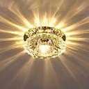 povoljno Flush Mount rasvjeta-Kristal Flush Svjetla Ambient Light Electroplated Crystal Crystal AC110-240V Meleg fehér / Hladno bijela / FCC