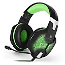 billige Gaming-KOTION EACH G1000 Gaming Headset Kabel Gaming Med mikrofon Med volumkontroll