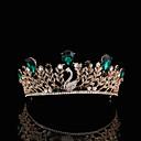 Χαμηλού Κόστους Σετ Κοσμημάτων-Κράμα Τιάρες με Τεχνητό διαμάντι 1 Τεμάχιο Γάμου Headpiece