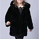 povoljno Modne narukvice-Djeca Dijete koje je tek prohodalo Djevojčice Osnovni Jednobojni Dugih rukava Pamuk Odijelo i sako Crn