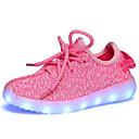ราคาถูก Clearance-เด็กผู้หญิง ความสะดวกสบาย / Light Up รองเท้า ทูเล่ รองเท้ากีฬา เด็กน้อย (4-7ys) / Big Kids (7 ปี +) วสำหรับเดิน LED สีแดง / สีชมพู / สีน้ำเงินกรมท่า ฤดูร้อน / ยาง / EU37
