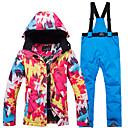 Χαμηλού Κόστους Μπότες πεζοπορίας στο χιόνι-ARCTIC QUEEN Γυναικεία Μπουφάν και παντελόνι για σκι Σκι Κατασκήνωση & Πεζοπορία Σνόουμπορτινγκ Αντιανεμικό Ζεστό Ochelari Ski POLY Φιλικό στο Περιβάλλον Πολυέστερ / Χειμώνας