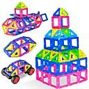 baratos Blocos Magnéticos-Blocos Magnéticos Azulejos magnéticos 38 pcs Interação pai-filho Todos Para Meninos Para Meninas Brinquedos Dom