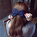 Χαμηλού Κόστους Αξεσουάρ μαλλιών-Μαντήλι Οικολογικό υλικό Κλιπ Διακοσμητικά Πολλαπλών λειτουργιών / Φως και βολικό 1 pcs Καθημερινά Μοντέρνα Κόκκινο Ροζ Μπλε