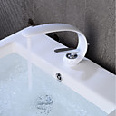 povoljno Slavine za umivaonik-Kupaonica Sudoper pipa - Kreativan Slikano završi Središnje pozicionirane Jedan Ručka jedna rupaBath Taps