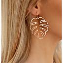 povoljno Kuhinjski alati Pribor-Žene Viseće naušnice Kokosova palma dame Stilski Jednostavan Naušnice Jewelry Zlato / Pink Za Dnevno 1 par