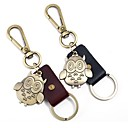 cheap Keychain Favors-Classic Theme / Owl / Creative Keychain Favors Chrome / Calf Hair Keychains - 1 pcs All Seasons