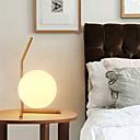 זול מנורות שולחן-מנורת שולחן זכוכית לבן לבן מודרני לחדר שינה בחדר השינה במשרד המיטה בחדר השינה המשרד שולחן עבודה ליד מיטת עיצובים מזהב