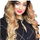 זול פיאות תחרה משיער אנושי-שיער ראמי תחרה מלאה חזית תחרה פאה תספורת אסימטרית Beyonce בסגנון שיער ברזיאלי Body Wave גלי טבעי טבעי מוזהב פאה 130% 150% 180% צפיפות שיער רך נשים הלבשה קלה איכות מעולה אופנתי בגדי ריקוד נשים ארוך