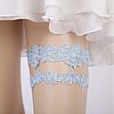 ราคาถูก ถุงเท้าสำหรับงานแต่งงาน-เส้นใยโปรตีนจากนม การแต่งงาน Wedding Garter กับ ขวิด สายรัด งานแต่งงาน
