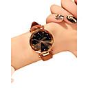 billiga Modehalsband-Dam Armbandsur Diamond Watch Quartz Vadderat PU-läder Svart / Röd / Brun 30 m Vattenavvisande Ny Design Ramtyp damer Ledigt Mode Astronomisk - Röd Grön Rosa