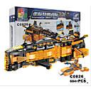 Χαμηλού Κόστους Building Blocks-Τουβλάκια Κατασκευασμένα Παιχνίδια Εκπαιδευτικό παιχνίδι 1 pcs Οικογένεια συμβατό Legoing Μεταμορφώσιμος Αεροπλανοφόρο Όλα Αγορίστικα Κοριτσίστικα Παιχνίδια Δώρο
