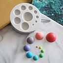 זול תבניות לעוגות-1pc סיליקון חמוד Cake עבור כלי בישול עגול עוגות Moulds כלי Bakeware