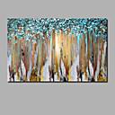 billige Abstrakte malerier-Hang malte oljemaleri Håndmalte - Abstrakt Still Life Moderne Inkluder indre ramme / Valset lerret / Stretched Canvas