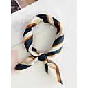 billiga Wraps & halsdukar för kvinnor-Dam Vintage / Grundläggande / Semester Fyrkantig Geometrisk Plisserad