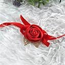 baratos Bouquets de Noiva-Bouquets de Noiva Buquê de Pulso Casamento / Festa de Casamento Seda / Tecidos 0-10 cm