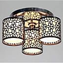 billiga Plafonder-Lightinthebox 3-Light Takmonterad Glödande Målad Finishes Metall Tyg Ministil 110-120V / 220-240V Glödlampa inte inkluderad / E26 / E27