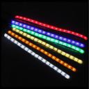 Χαμηλού Κόστους LED Φωτολωρίδες-zdm 50cm 5050 10mm dc12v αδιάβροχο ip65 pc υπολογιστή οδήγησε ευέλικτη φωτεινή λάμπα φόντο