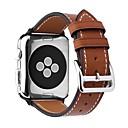 povoljno Figure za tortu-Teleća koža Pogledajte Band Remen za Apple Watch Series 4/3/2/1 Crna / Smeđa / Pink 23 cm / 9 inča 2.1cm / 0.83 Palac