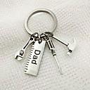 ieftine Savori Breloc-Temă Clasică / Creative / Nuntă Favoruri Keychain inox Breloc - 1 pcs Toate Sezoanele