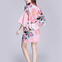cheap Lingerie-Faux Silk Robes Wedding Personalized