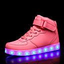 זול LED Shoes-בנות נעליים זוהרות PU נעלי ספורט ילדים / מתבגר אדום / כחול / ורוד סתיו / גומי