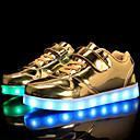 ราคาถูก รองเท้า LED-เด็กผู้ชาย / เด็กผู้หญิง ความสะดวกสบาย / Light Up รองเท้า PU รองเท้าผ้าใบ เด็กวัยหัดเดิน (9m-4ys) / เด็กน้อย (4-7ys) / Big Kids (7 ปี +) ลูกไม้ขึ้น / ตะขอและห่วง / LED สีทอง / เงิน / สีชมพู ตก