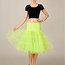 ราคาถูก เสื้อผ้าประวัติศาสตร์และวินเทจ-เจ้าหญิง หนึ่งชิ้น ชุดเดรส Party Costume ตูตู Mermaid and Trumpet Gown Slip วินเทจ 1950s สีเขียว ฟ้า สีชมพู Petticoat / ภายใต้กระโปรง / กระโปรงผายก้น