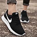 זול נעלי ספורט לנשים-בגדי ריקוד נשים נעלי אתלטיקה שטוח בוהן עגולה רשת ספורטיבי / יום יומי ריצה / כושר וחיטוב / הליכה אביב / קיץ / סתיו שחור לבן