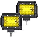 billige Arbeidbelysning-OTOLAMPARA 2pcs Bil Elpærer 60 W SMD 3030 6000 lm 20 LED Arbeidslampe Til