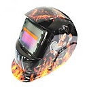 ราคาถูก หมวกกันน็อกจักรยานยนต์-รูปแบบความงามล้อซ้ายตาแมวหน้ากากเชื่อมแสงอาทิตย์อัตโนมัติพลังงานแสงอาทิตย์