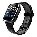 זול חכמים wristbands-Indear Q58 גברים Smart צמיד Android iOS Blootooth ספורטיבי עמיד במים מוניטור קצב לב מודד לחץ דם מסך מגע מד צעדים מזכיר שיחות מד פעילות מעקב שינה תזכורת בישיבה / Alarm Clock / חיישן דופק