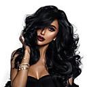 povoljno Perike s ljudskom kosom-Remy kosa 360 Frontalni Perika Duboko udaljavanje Kardashian stil Brazilska kosa Wavy Natural Perika 150% 180% Gustoća kose s dječjom kosom Najbolja kvaliteta Rasprodaja Gust Žene Dug Perike s