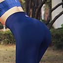 povoljno Odjeća za fitness, trčanje i jogu-Žene Visoki struk Peplum Hlače za jogu Jedna barva Zumba Trčanje Trening u teretani Donji Odjeća za rekreaciju Butt Lift Kontrola trbuščića Power flex Rastezljivo Slim