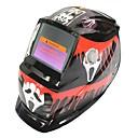 povoljno Sigurnost-grimizni duh uzorak solarna automatska fotoelektrična maska za zavarivanje