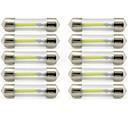billiga Innerbelysning-10pcs 41mm Bilar Glödlampor 1 W COB 85 lm 1 LED innerbelysningen / Utomhuslampor lampor Till Universell Universell / KX5 Universell