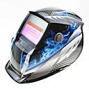 povoljno Sigurnost-plava vatra uzorak solarna automatska fotoelektrični zavarivanje maska