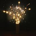 billige Flush Mount-lamper-ledet pilgrimslampe blomsterlampe 20 pærer hjem julefest dekor