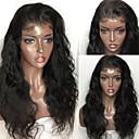 povoljno Perike s ljudskom kosom-Virgin kosa Remy kosa Lace Front Perika S konjskim repom stil Peruanska kosa Tijelo Wave Natural Perika 150% Gustoća kose s dječjom kosom Prirodna linija za kosu Za crnkinje 100% Djevica Izbijeljeni