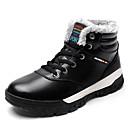 Χαμηλού Κόστους Μπότες πεζοπορίας στο χιόνι-Ανδρικά Μπότες Χιονιού Μικροΐνα Χειμώνας Καθημερινό Μπότες Περπάτημα Διατηρείτε Ζεστό Μαύρο / Μπλε
