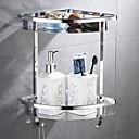 billiga Tvättställsblandare-Badrumshylla Multilayer Nutida Rostfritt stål 1st Väggmonterad