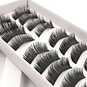 cheap Makeup Sponges-Eyelash Extensions 20 pcs Women Pro Natural Extra Long Fiber Daily Wear Full Strip Lashes Thick - Makeup Daily Makeup Traditional Cosmetic Grooming Supplies