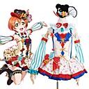 povoljno Igračke za mačku-Inspirirana Ljubav uživo Cosplay Anime Cosplay nošnje Japanski Cosplay Suits Kolaž / Miks boja Haljina / Luk / More Accessories Za Muškarci / Žene