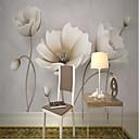 Χαμηλού Κόστους Τοιχογραφία-ταπετσαρία / Τοιχογραφία Καμβάς Κάλυψης τοίχων - κόλλα που απαιτείται Φλοράλ / Art Deco / 3D