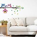 billige Veggklistremerker-Dekorative Mur Klistermærker - Fly vægklistermærker / Animal Wall Stickers Landskap Soverom / Barnerom