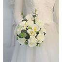 povoljno Cvijeće za vjenčanje-Cvijeće za vjenčanje Buketi Vjenčanje / Svadba S perlama / Svila 11-20 cm