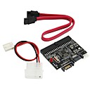 billiga Motorcykel och ATV-delar-IDE till SATA 2-Port Adapter Card